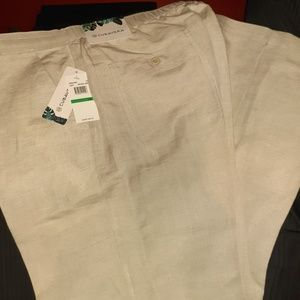 Cubavera Linen Dress Pants